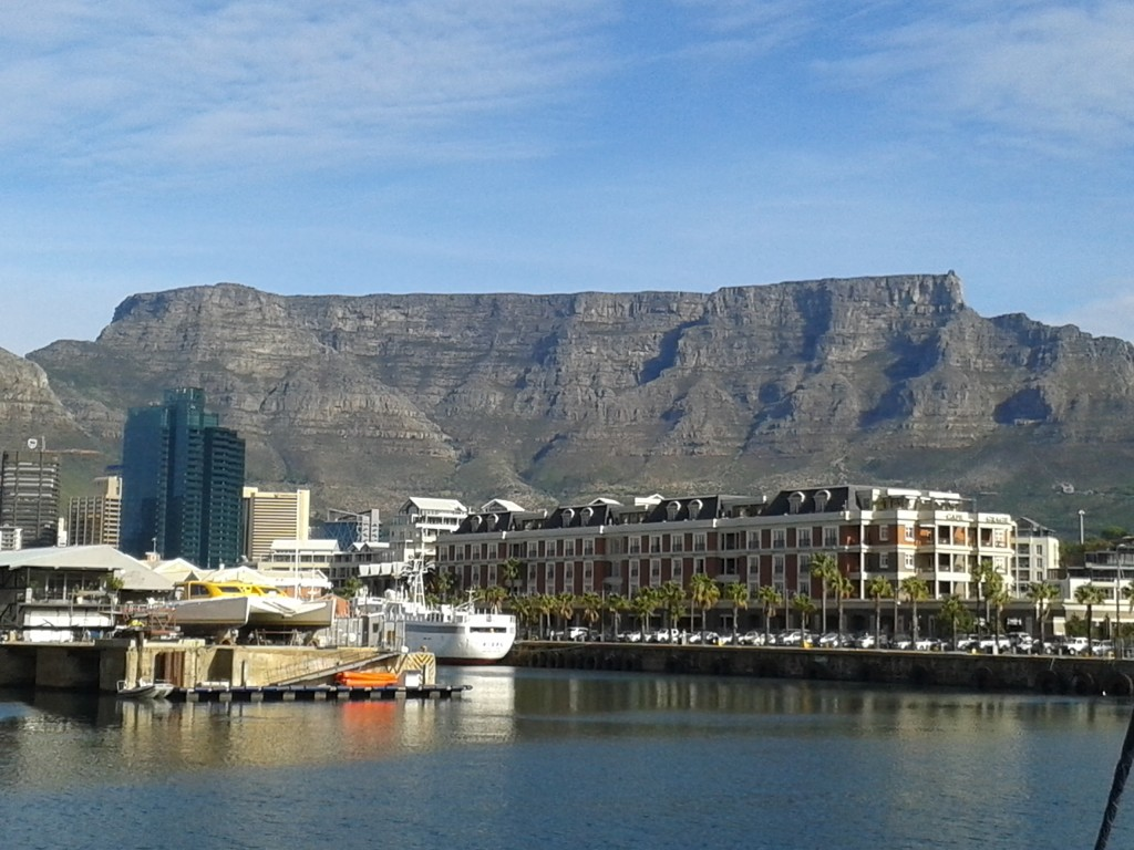 erfront and Table Mountain