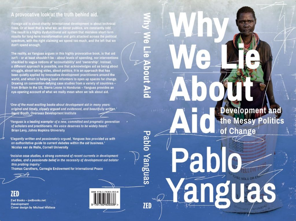 Jacket for Why We Lie About Aid